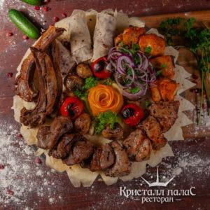 Блюда из мяса на углях