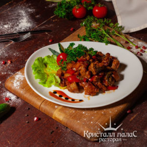 Блюда из телятины
