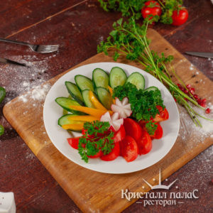 Холодные закуски из овощей